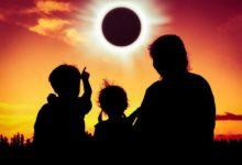 Photo of На видео попало редкое кольцеобразное солнечное затмение»
