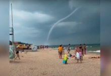 Photo of Огромные смерчи на побережье Краснодарского края попали на видео»