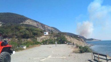 Photo of Сотни туристов эвакуируют из-за пожара в заповеднике «Утриш» под Анапой»