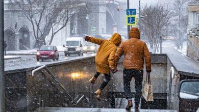 Photo of На выходных в Москве ожидается первый снег»